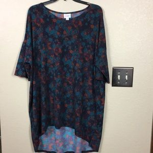 Lularoe Irma high low top size extra large